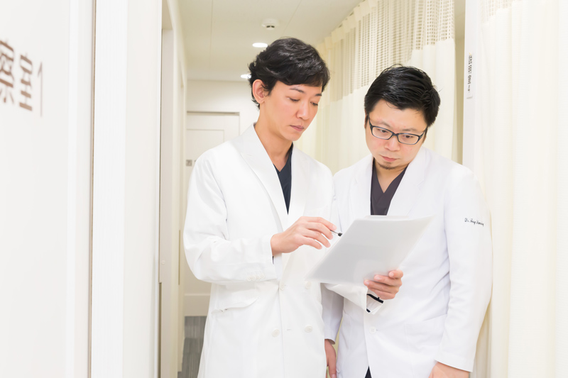 経験豊富な専門医