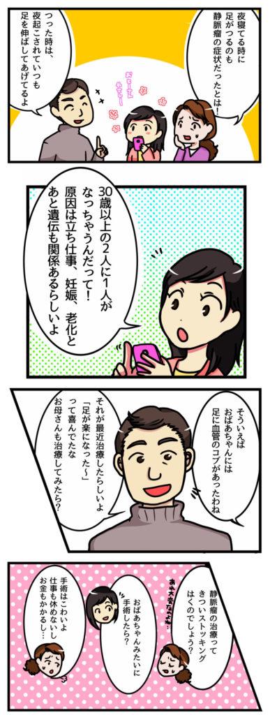 下肢静脈瘤漫画2