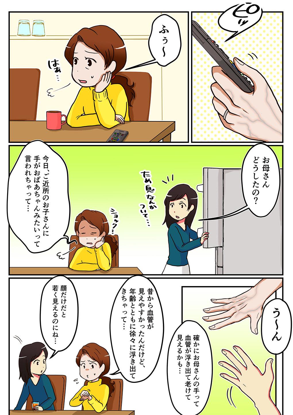 ハンドベイン漫画1