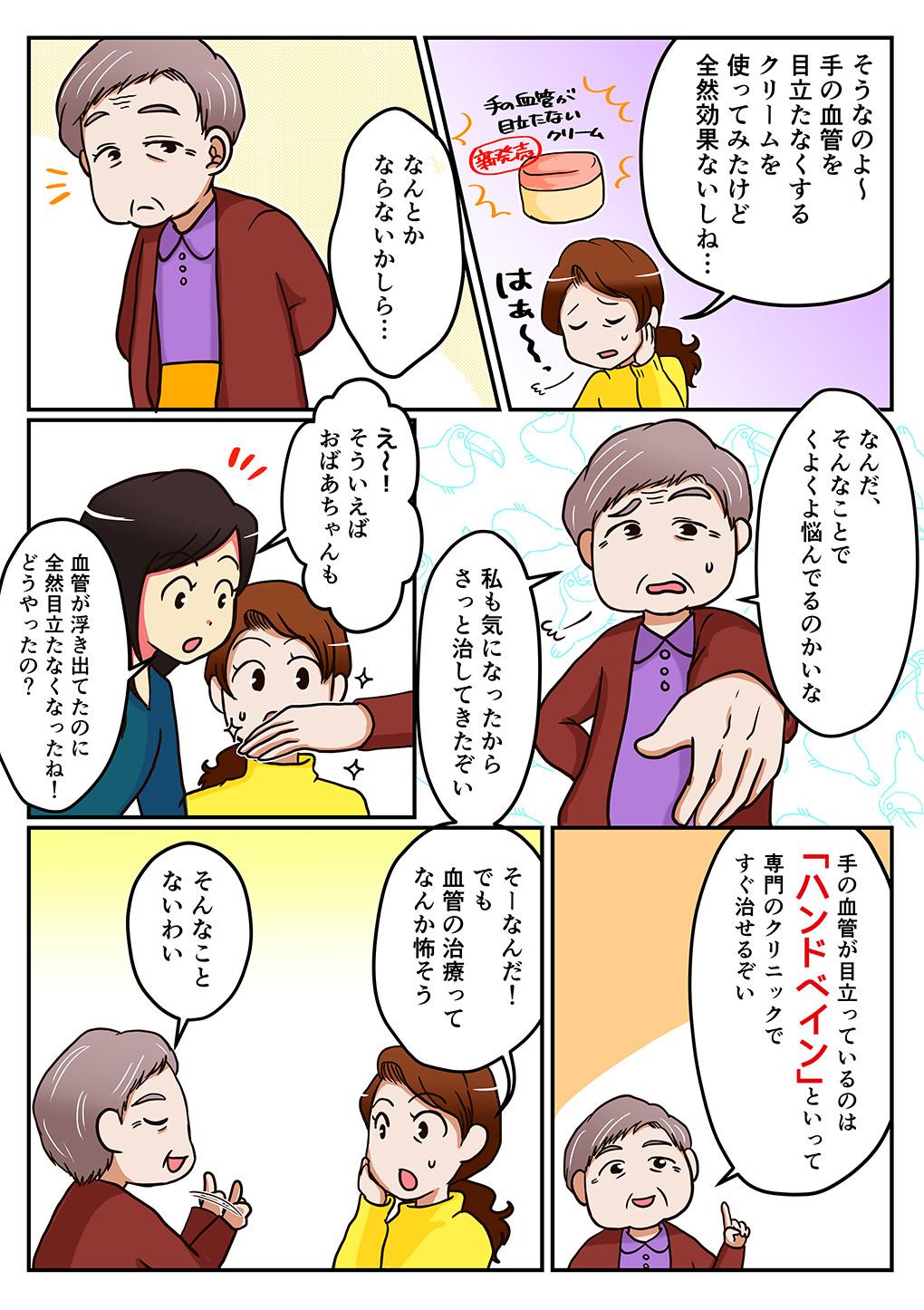 ハンドベイン漫画2