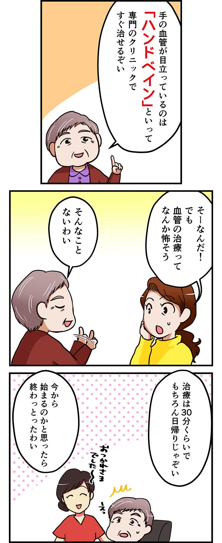 ハンドベイン漫画3(スマホ)